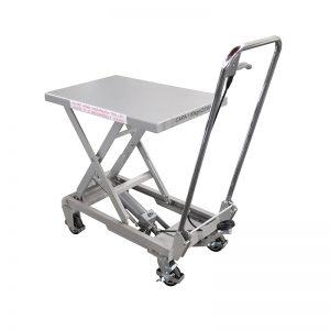 BSA10 알루미늄 / 수동 가위 스테인레스 스틸 리프트 테이블