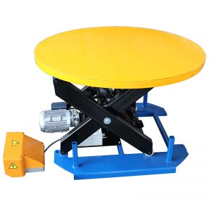 HRL1000 고정식 리프트 테이블 (캐 러셀 턴테이블 포함)