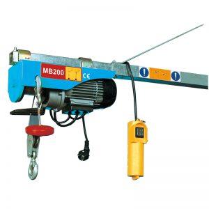 MB200 미니 전기 호이스트, 전기 레버 호이스트